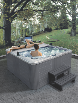 Tác dụng tuyệt vời của bồn tắm massage