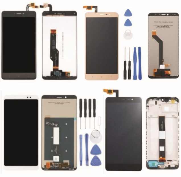 Phone Screens: LCD Replacement Kit for Xiaomi Redmi Notes