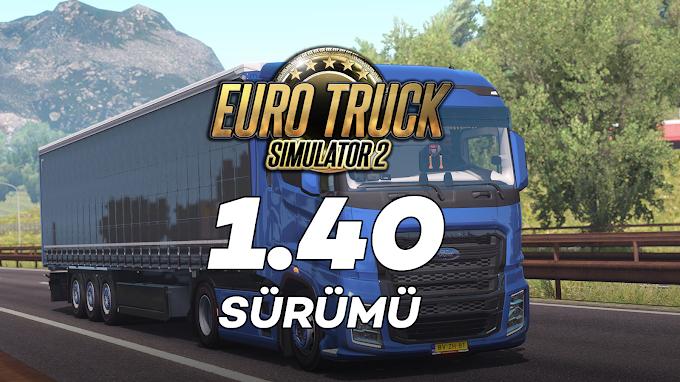 Euro Truck Simulator 2 1.40 + 74 DLC Tek Link İndir