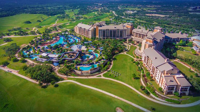 Escape to the recreation and Texas luxury of JW Marriott San Antonio Hill Country Resort & Spa, featuring a water park and PGA-Certified golf courses.