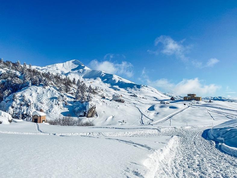 Andare sulla neve ai Piani di Artavaggio