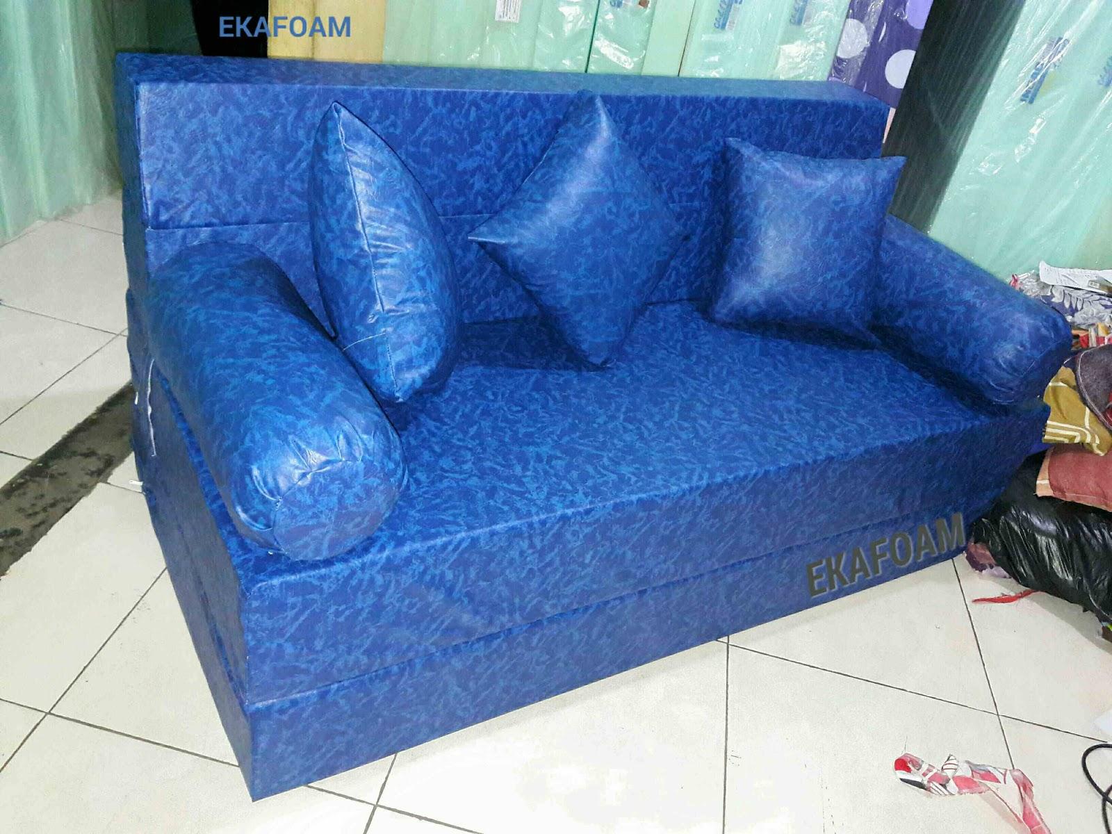 Harga Sofa Bed Inoac No 1 Ikea Microfiber Kasur Busa