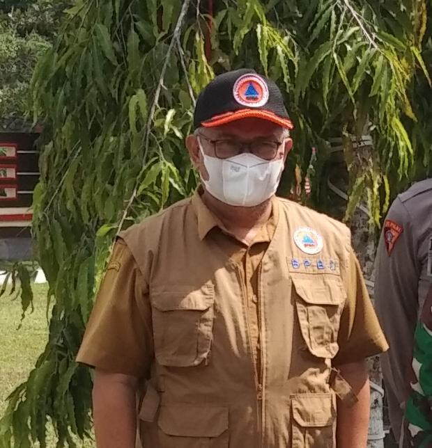 Dukung Kegiatan Penyekatan di Perbatasan Kalteng - Kalsel, BPBD Damkar Siapkan Personel