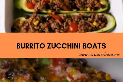 Burrito Zucchini Boats