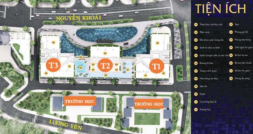 Quy hoạch chung cư số 3 Lương Yên