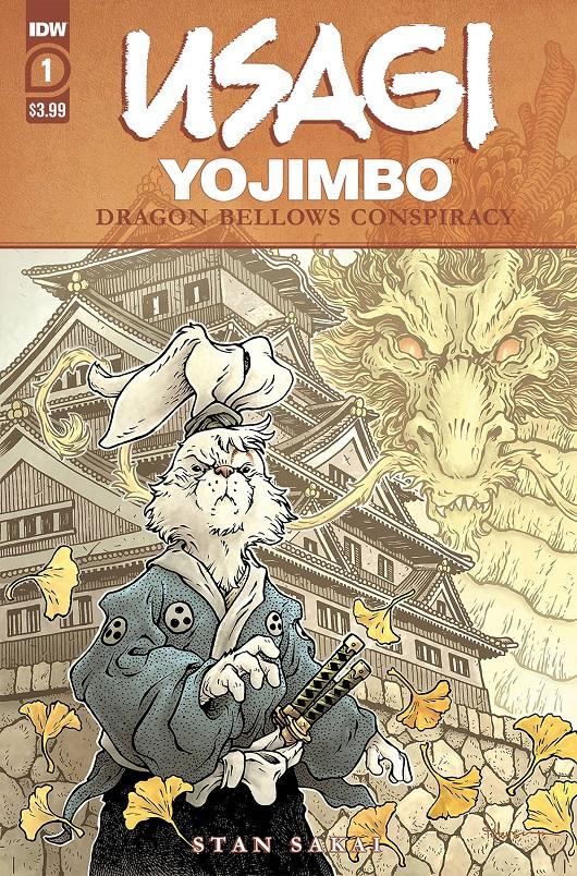 Cover of Usagi Yojimbo: Dragon Bellow Conspiracy #1