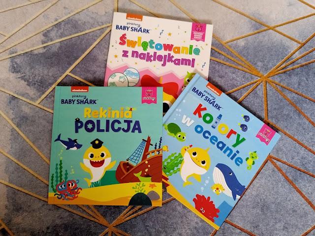 Baby Shark - sympatyczna seria książeczek od Wydawnictwa Słowne