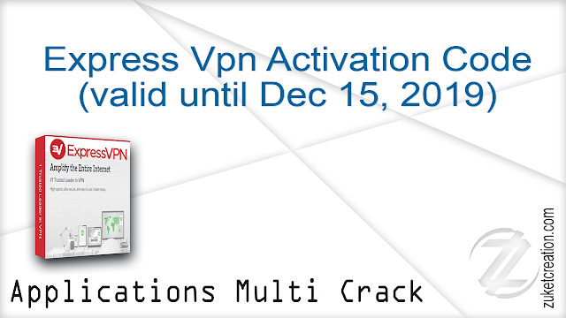 Express Vpn Activation Code (valid until Dec 15, 2019)