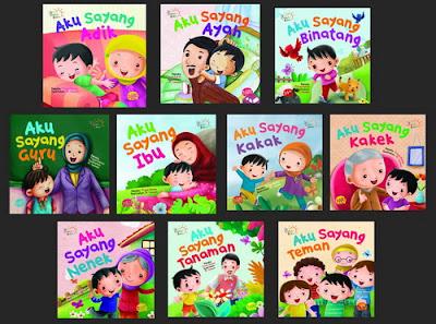 Boardbook Seri Cerita Balita