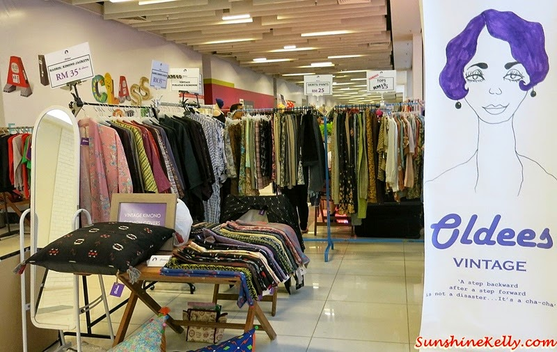 A Fun Weekend, Markets Jaya One, The School, Jaya One, Vintage Hunt, Vintage Dress