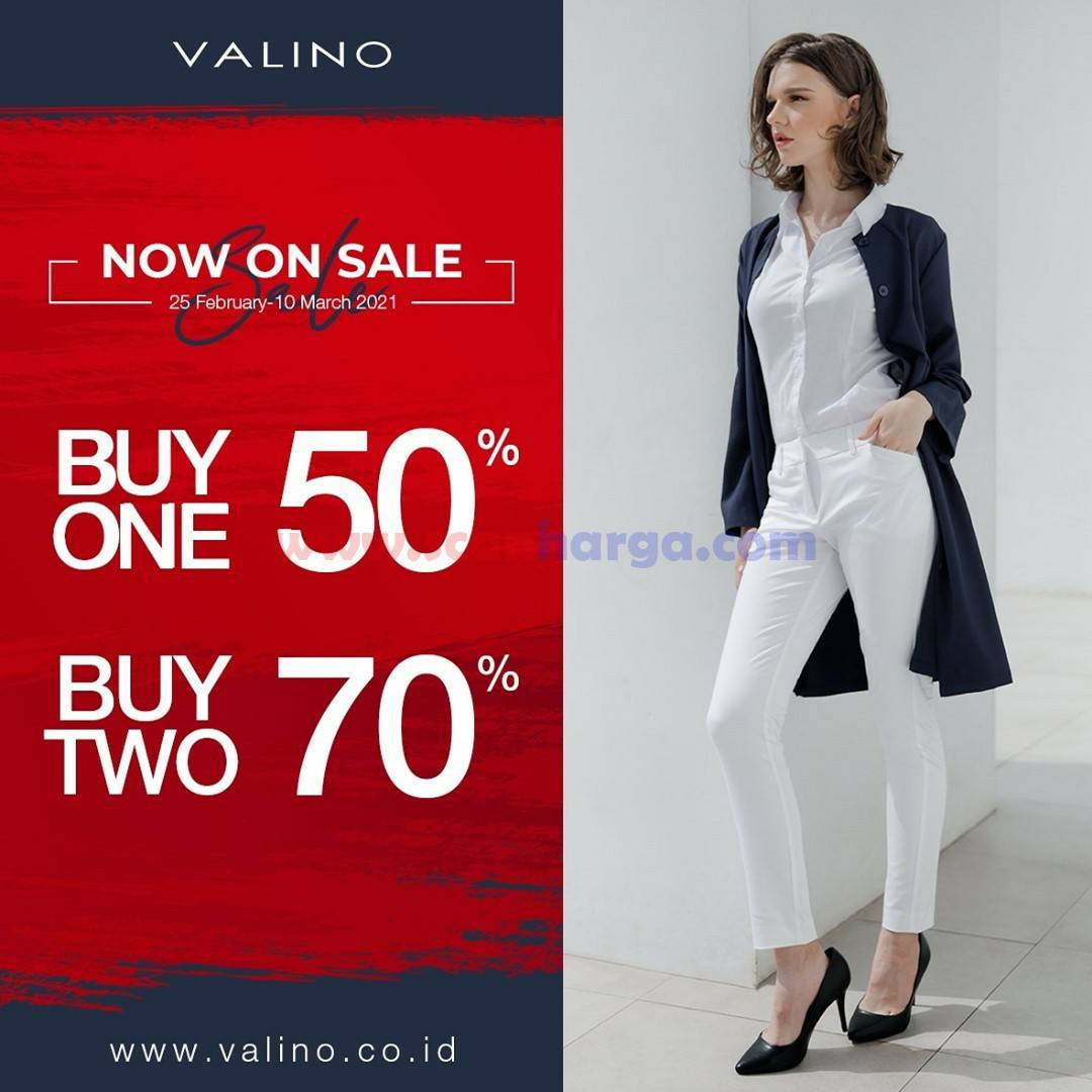 AEON Store Promo VALINO! Now On Sale Buy One 50% or Buy Two Disc. 70%