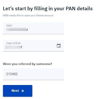 Fill pan card detail