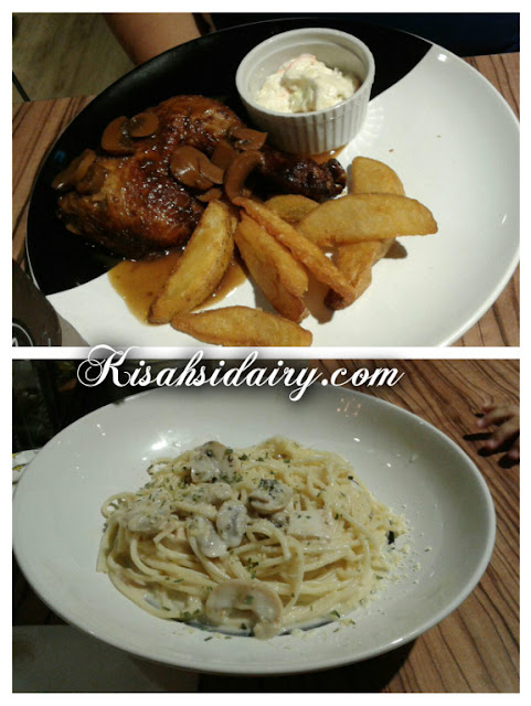 Dinner Di SDS Cafe & Bakery Kota Masai