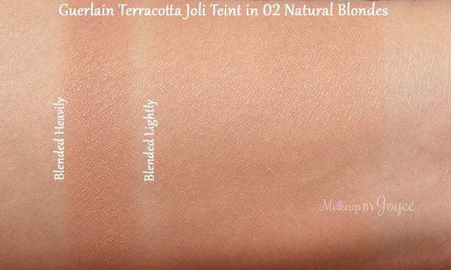 Guerlain Blondes Naturel #2 Bronzer Blush Powder Duo Swatch Joli Teint