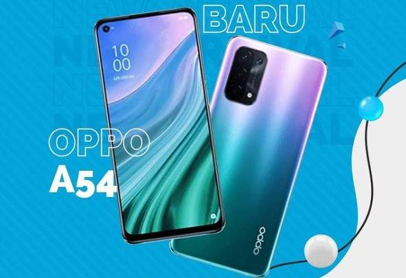 Oppo A54 indonesia
