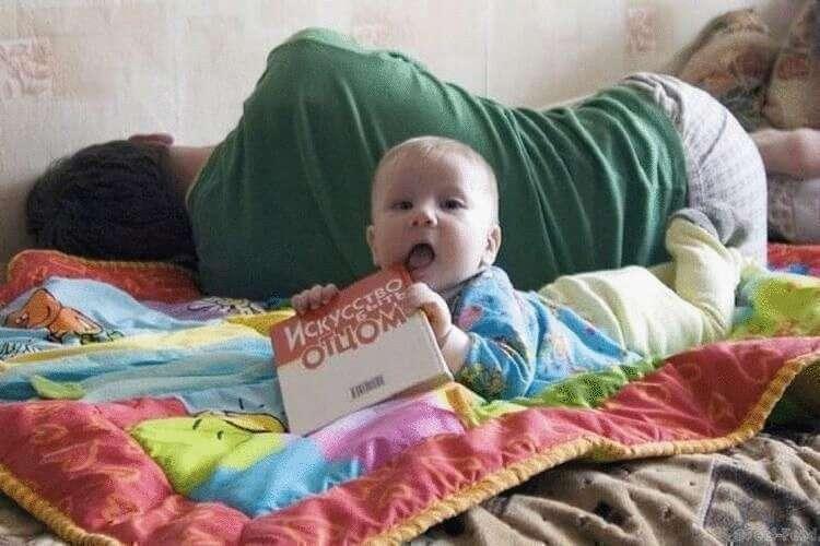 Смешные Фото из Серии Дети и Родители