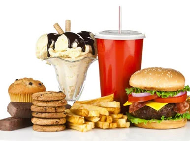 Junk Food Harmful for our health.