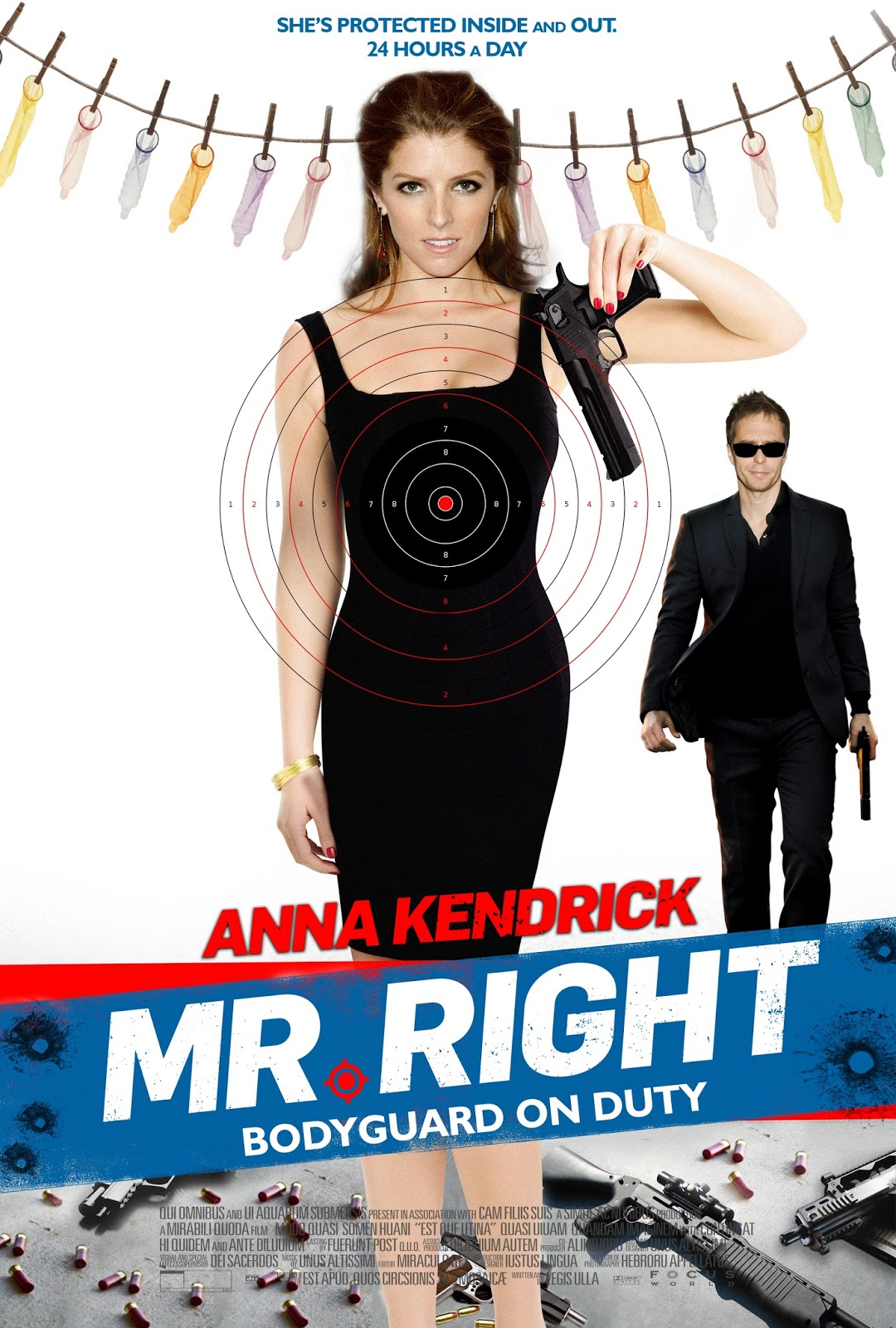 to love and to guard in romantic action comedy mr right movie