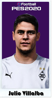 PES 2021 Faces Julio Villalba by Shaft