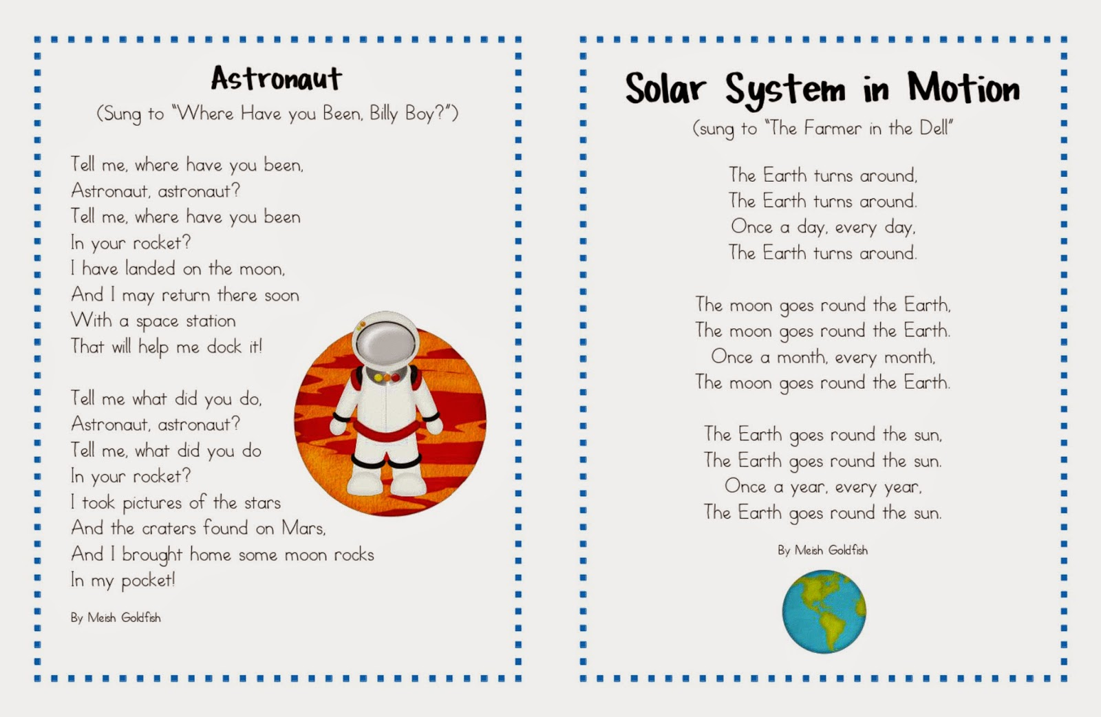 Solar System Songs For Preschoolers