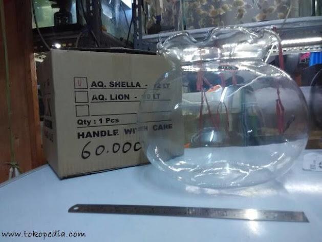 Harga Aquarium Mini Bulat Lengkap