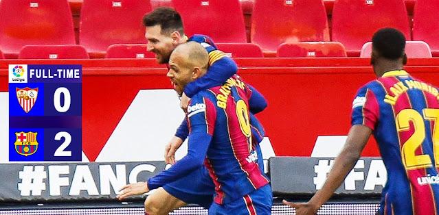 Sevilla vs Barcelona Highlights