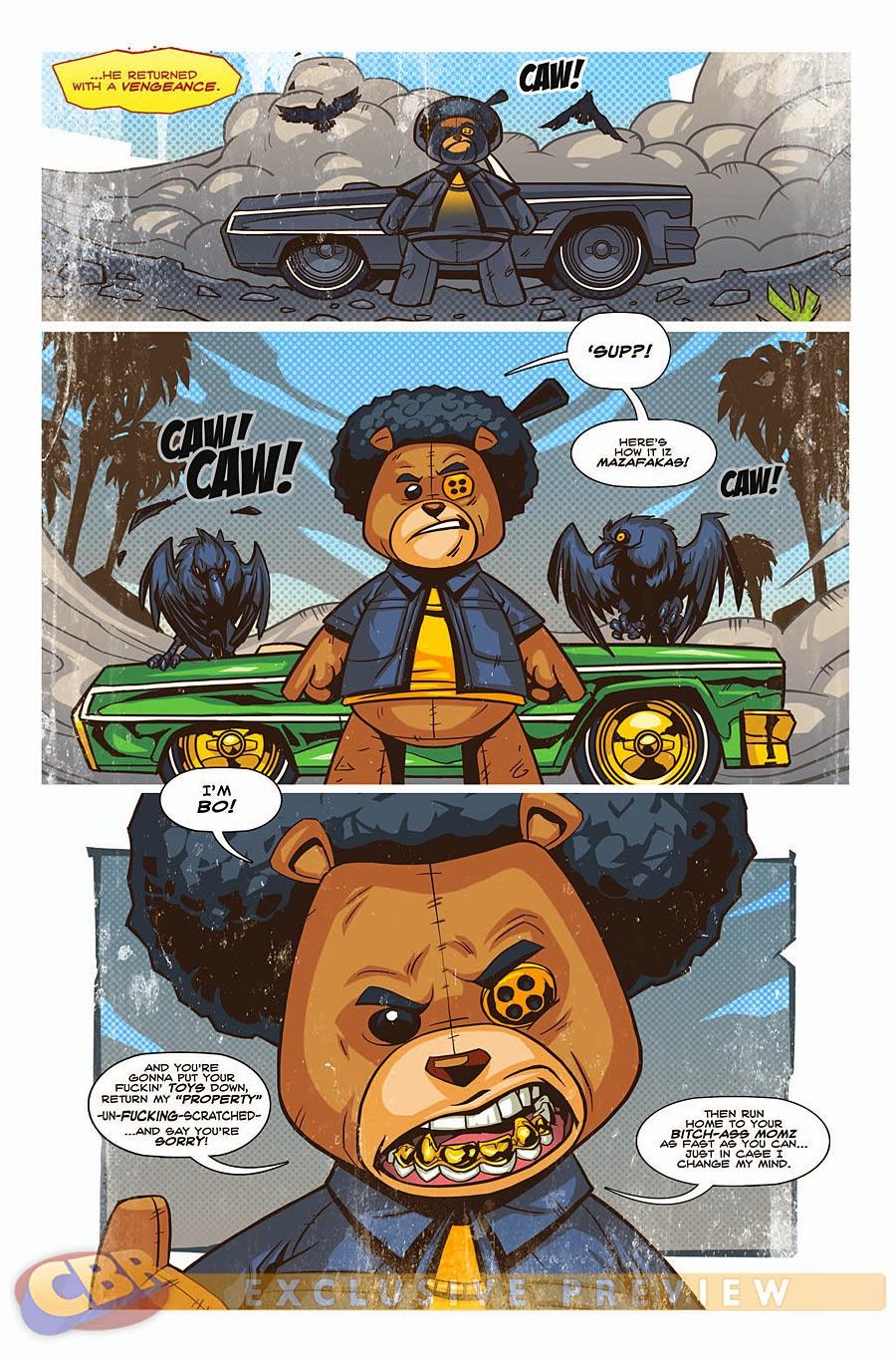 Gangsta Cookie Monster 52702 Enews