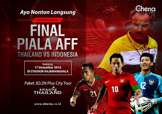 Paket Tour dan Tiket Nonton Final AFF Di Bangkok Thailand