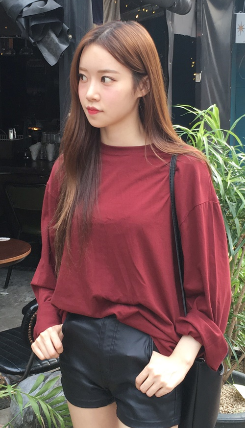 Loose Fit Cotton T-Shirt