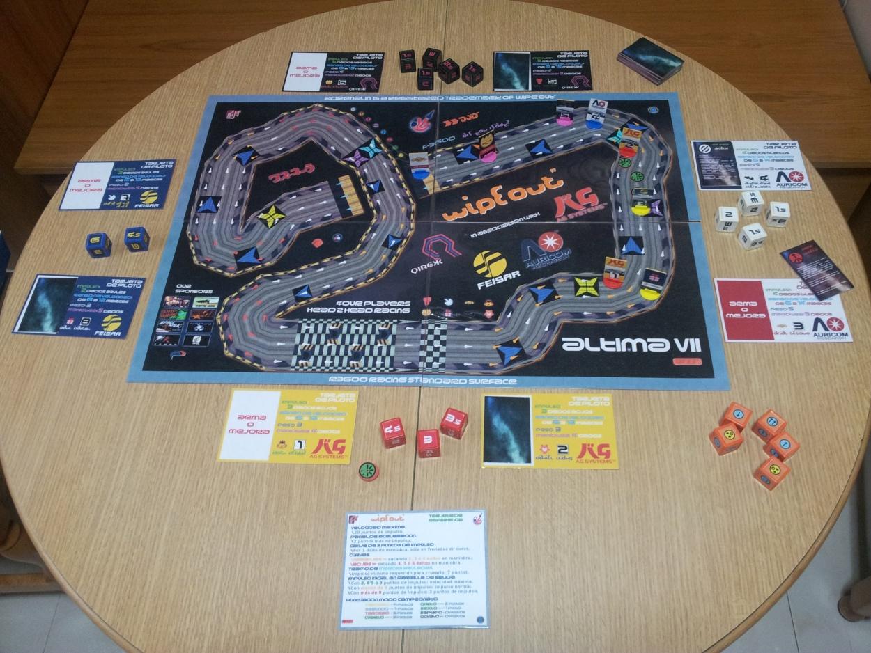 Circuito Wipeout : Wipeout f el juego de mesa de carreras futuristas variedro