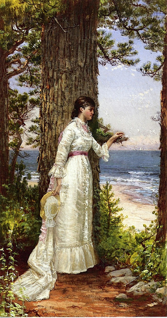 Alfred Thompson Bricher -  Under the Seaside Tree