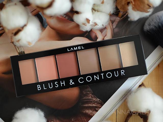 Отзывы о Палетке для дрейпинга Lamel Professional Blush&Contour № 1