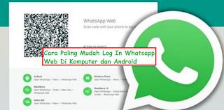 5 detik: Ini Cara Paling Mudah Log In Whatsapp Web Di Komputer