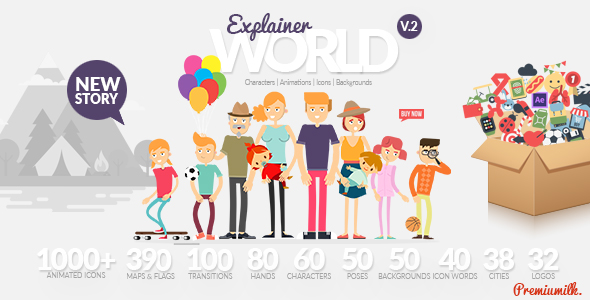 Explainer_World_590x300 Explainer World Video Toolkit Library Videohive – Free After Effects Template download