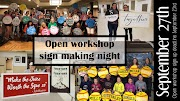 September 27th open workshop