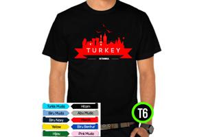 Kaos Turki Kode T6