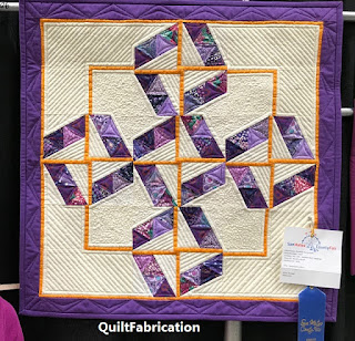 Serendipity Mini quilt by QuiltFabrication