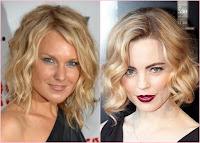 Lockige Frisuren mit Schichten für Frauen jedes Alters