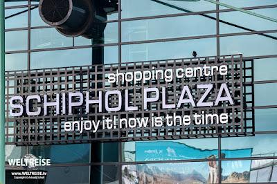 Schiphol Airport Amsterdam www.WELTREISE.tv