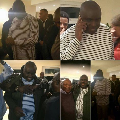 James Ibori Holds Prayer Session After His Release In London