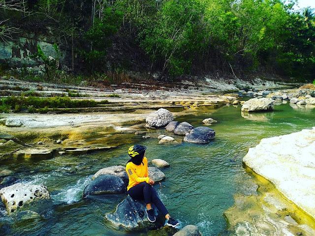 Lokasi Wisata Lempeng Kedung Kemin Sungai Paingan Kulon Progo