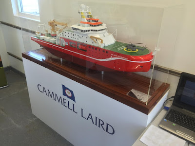 Construction on 'Boaty McBoatyface' begins