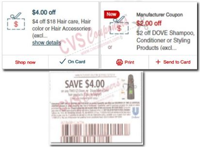 dove coupons cvs app and insert cvs couponers