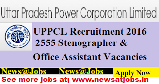 uppcl-2555-Stenographer -Office-Assistant-Vacancies