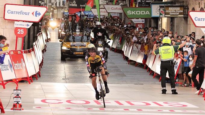 Vuelta a España 2021 - 1ª etapa clasificación