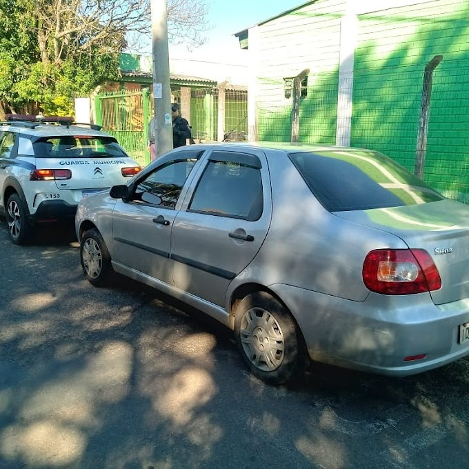 CACHOEIRINHA | Guarda Municipal recupera veículo roubado na Granja Esperança