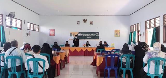 Dikunjungi Jajaran Baznas Kobi, Kepala SMPN 07 Berikan Apresiasi dan Dukungan