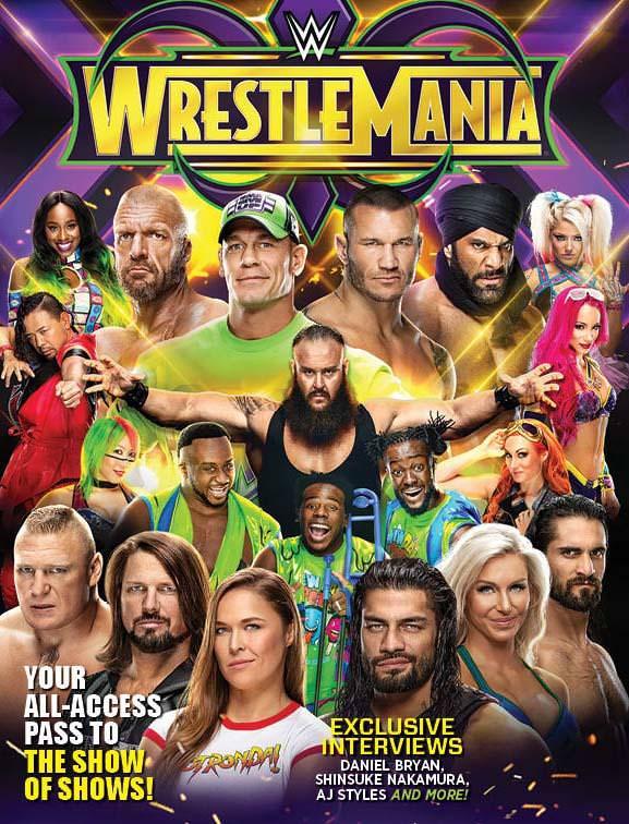 WWE WrestleMania 34 Kickoff (8th April 2018) Hindi 400MB HDTV 480p x264