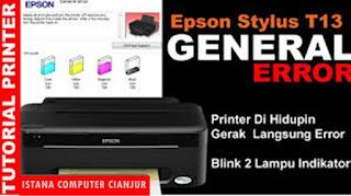 Printer T13 Blinking