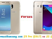 Perbandingan Samsung Galaxy J3 Pro (2017) vs J2 (2017)